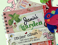 Jamie's Garden | Kids Loyalty Program Design
