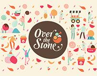 Over the Stone - Ice Cream Store Branding