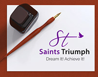 Saints Triumph Logo