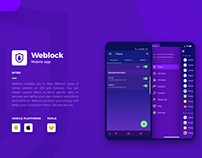 Weblock - say no to unwanted ads on mobile devices