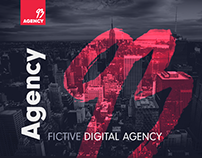 93 Agency Website FREE PSD Template - Part 1