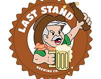 Last Stand Brewing Company - logo design
