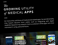Infographic - The Growing Utility of Medical Apps