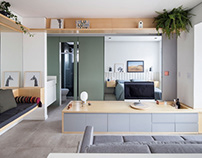 Cazo Apartment by ESTUDIO BRA