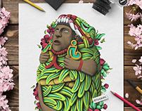 Quetzalcoatl Sculpture