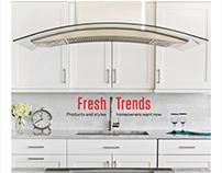 Fresh Trends magazine design