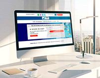 Web Design - Landing Page - Visa Agency