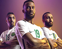 STC Saudi national team Photoshoot 2018