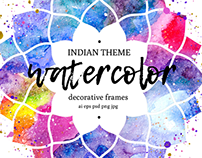 Watercolors of India