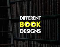 Different Book Designs