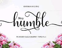 Font Humble Script