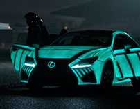 The Lexus Heartbeat Car