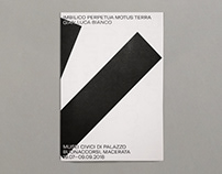 Imbilico Exhibition Folding Poster