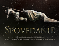 "Poster Design ""Spovedanie"""