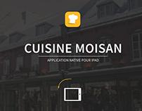 Application Cuisine Moisan