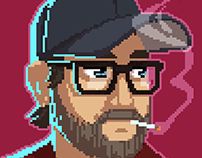 Kopskop Games - Staff Pixel Portraits