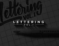 Lettering Vol. I