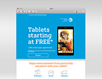 AT&T Tablet Email Refresh