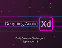 Adobe XD: Daily Creative Challenge 1