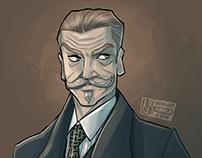 Portrait of Poirot