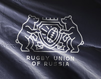 Rugby union logo concept