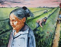 La doña de la cosecha