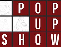 Pop Up Show Poster Design