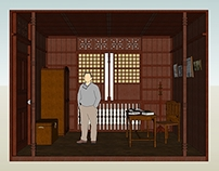 Scale Model Interior Layout (Ancestral House) A