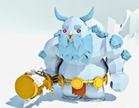 Ymir - SMITE GAME (Low Poly)