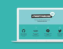 Tweetyourcode
