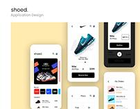 Shoed - Mobile App - Concept Design to Buy Shoes Online
