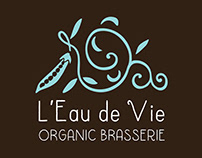 L'Eau de Vie, Restaurant Logo