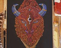 Bison Totem