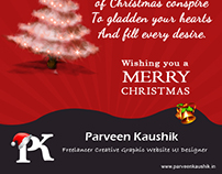 Christmas Email Template Design