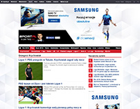 Samsung page layout
