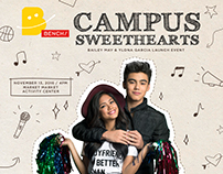 #BenchCampusSweethearts: Poster