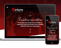 Enigma Formaturas - Website