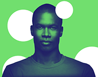 Spotify Duotone Portraits