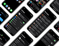 iOS Dark Mode
