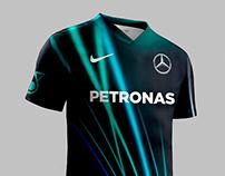 F1 2017 Football Kits