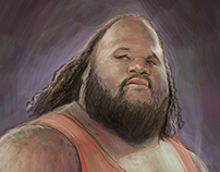 Mark Henry Painting