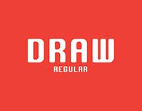 DRAW Free Font