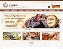 (2013) GelenekselPazar.com: UI Design