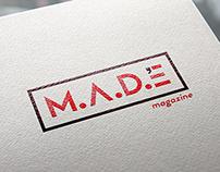 M.A.D.E Magazine Brand Identity