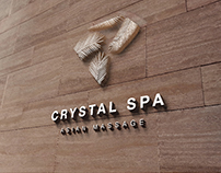 Crystal Spa Branding