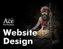 Website Design - Ace the Himalaya