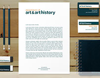 Department of Art & Art History Identity
