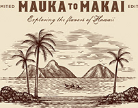 Lanikai Brewing Label Illustrated by Steven Noble