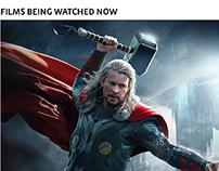 ShowTime - online movie platform.