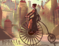 Rosalía pioneira